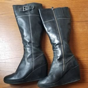 Cole Haan wedged boots